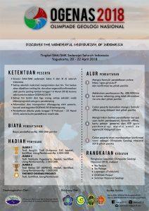 Ogenas 2018 Teknik Geologi IST AKPRIND Yogya