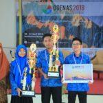 Juara 1 OGENAS - Teknik Geologi IST AKPRIND Yogya