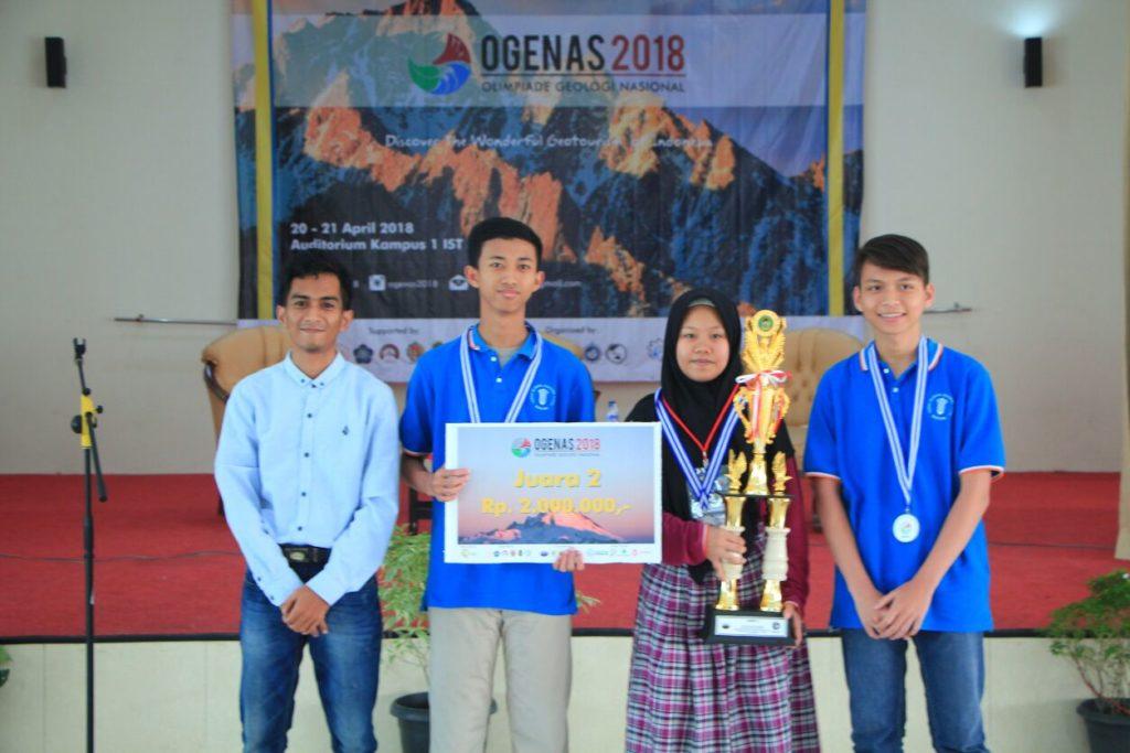 Juara 2 OGENAS - Teknik Geologi IST AKPRIND Yogya