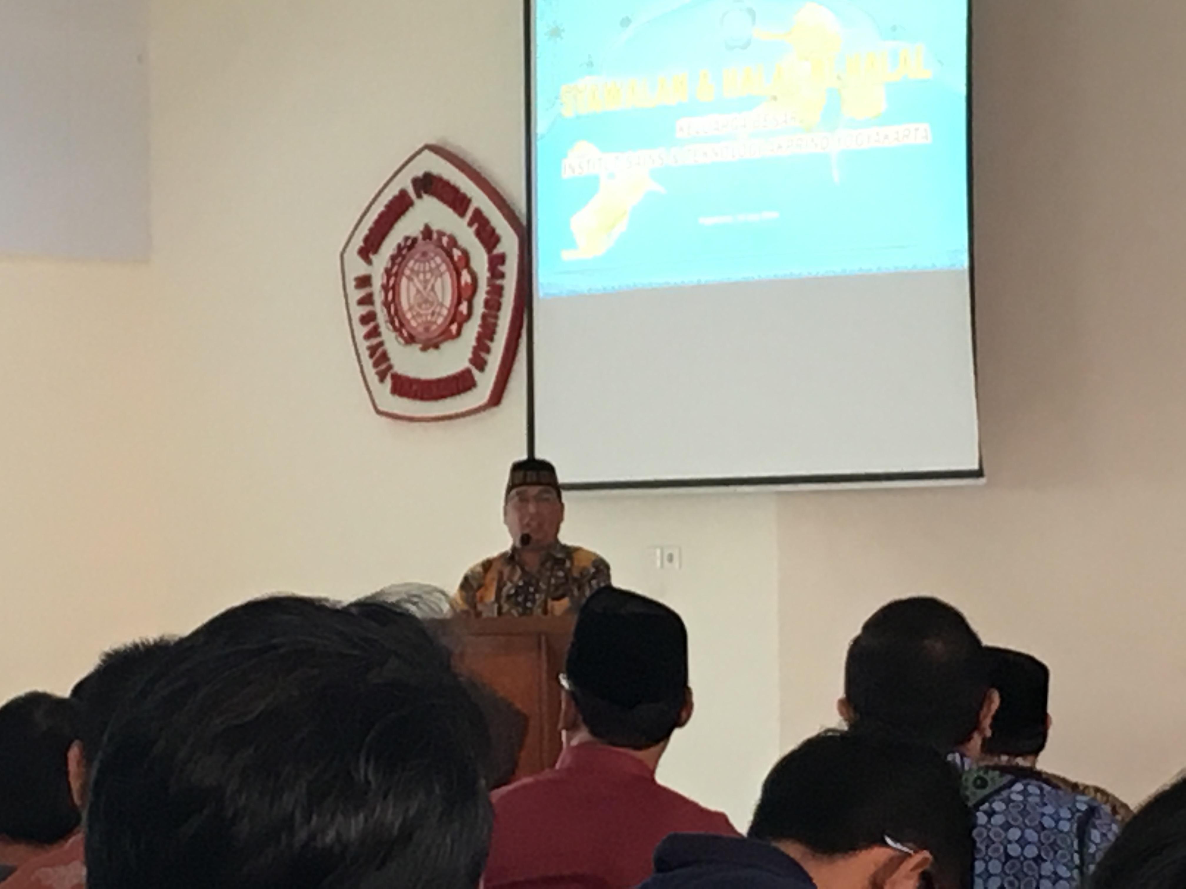 Bapak Ustadz drh. H. Agung Budiyanto, MP, Ph.D (Wakil Dekan 1 & Dosen Pasca Sarjana Fakultas Kedokteran Hewan UGM).