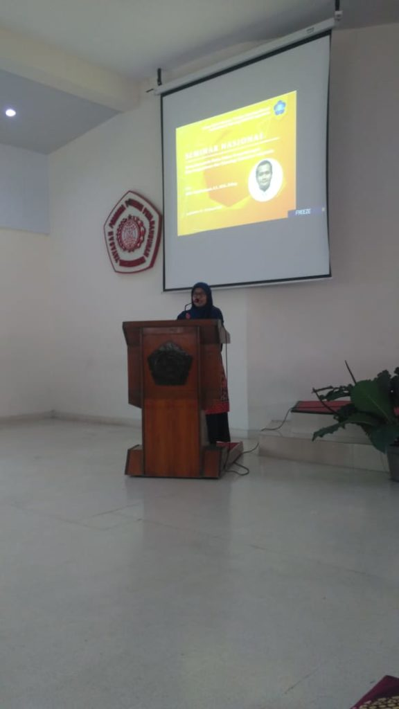 Sambutan Dekan Fakultas Teknologi Mineral DR. Sri Mulyaningsih, S.T., M.T - Teknik Geologi