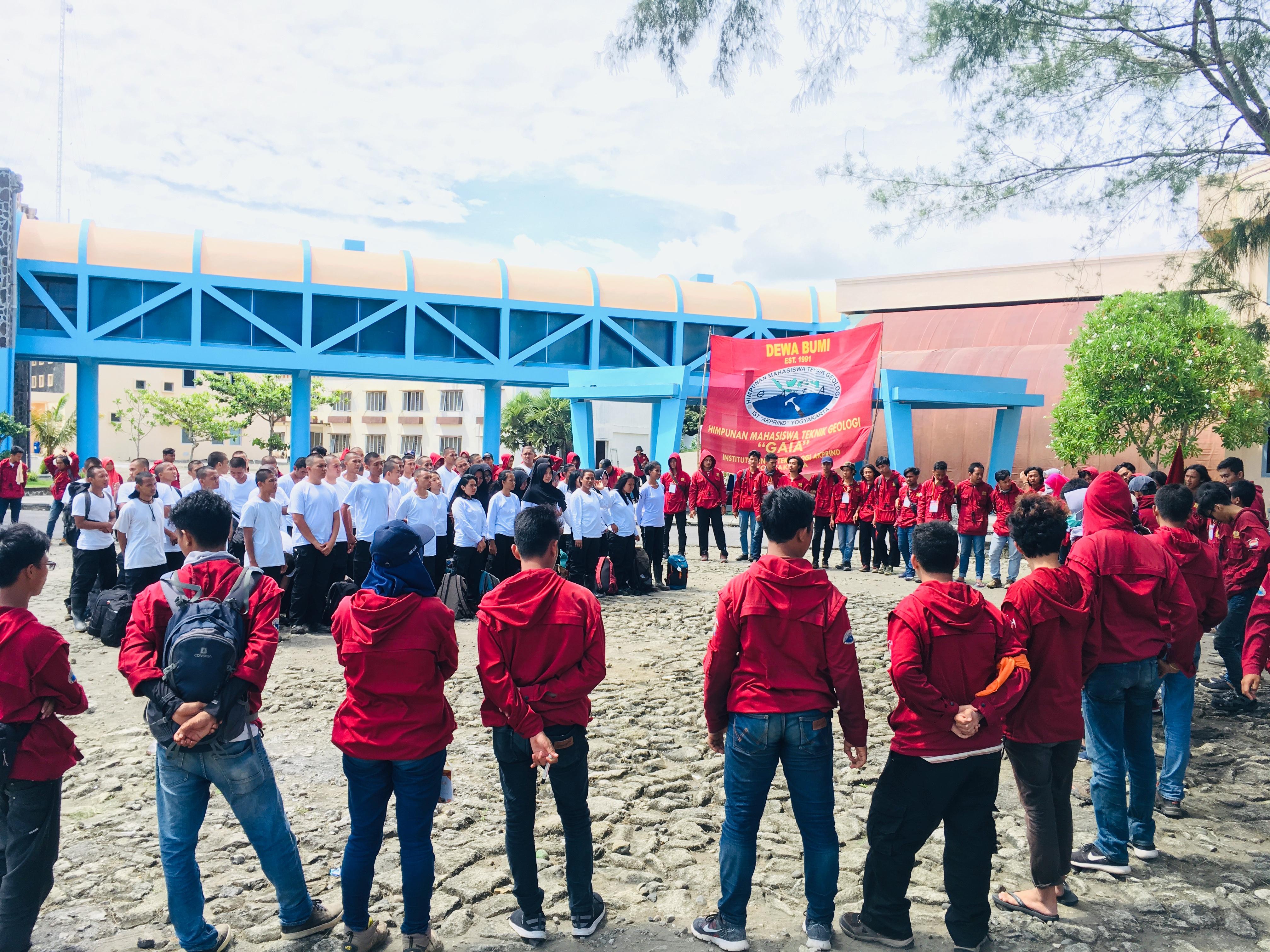 Peserta PSG 2019 Teknik Geologi IST AKPRIND Yogyakarta