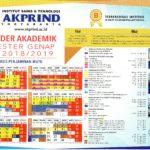 Kalender Akademik Genap 2019