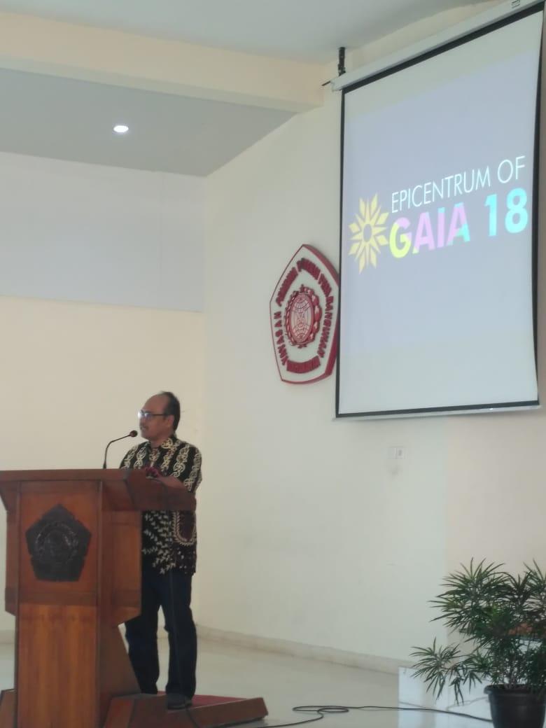 Seminar Nasional Epicentrum of GAIA 18 - Teknik Geologi IST AKPRIND (2)