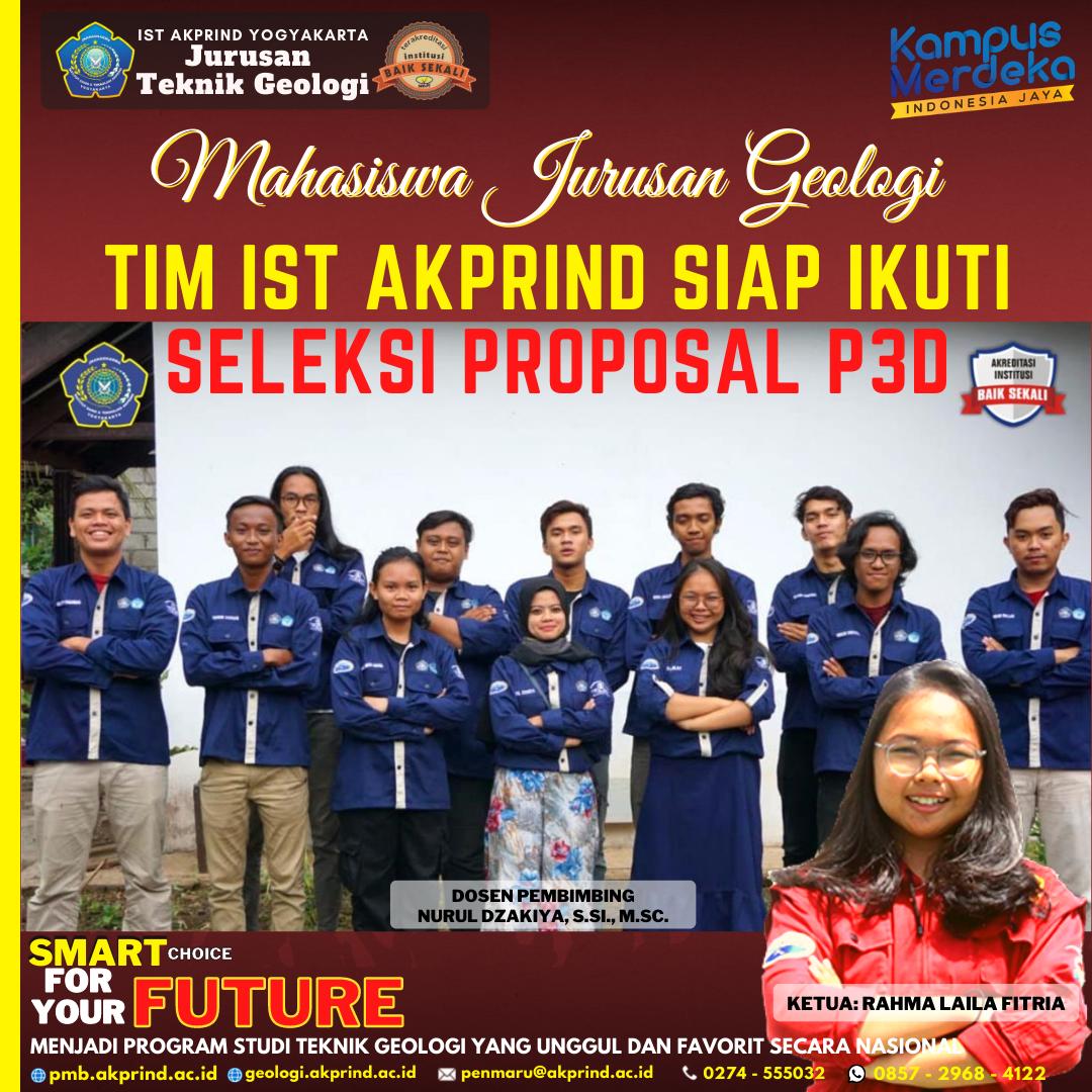 Tim IST AKPRIND Siap Ikuti Seleksi Proposal P3D
